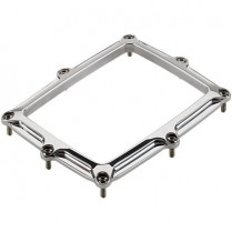 Rectangle Shifter Boot Ring - Polished