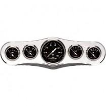 "Trim Style 5 gauge 3-3/8"" Dash Panel - Polished"