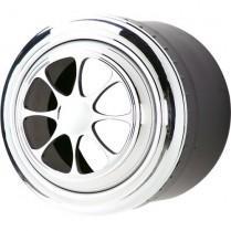 Silhouette Aluminum A/C Vent - Polished