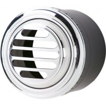 Slotted Aluminum A/C Vent - Polished