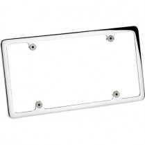 Plain License Plate Frame without Light - Polished