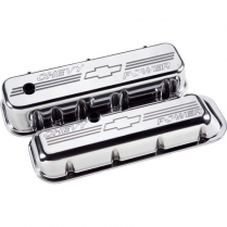 Chevy Power Tall Valve Covers for BB Chevy - Polished