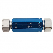 Residual Pressure Valve - Blue 2 PSI