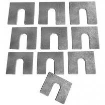 Universal GM 1.6 mm Body Shims - 10 Piece Kit