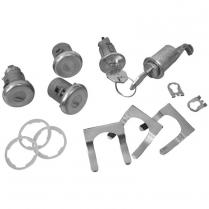 1968 Camaro Cylinder & Key Only Lock Set