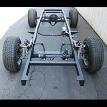 1937-40 Chevy Passenger Car Complete - Roller Frame