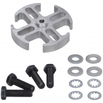"""Fan Spacer - 1/2"""" Thick Aluminum"""