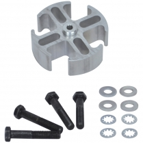 """Fan Spacer - 1"""" Thick Aluminum"""