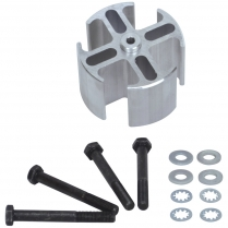 """Fan Spacer - 2"""" Thick Aluminum"""