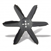 "Nylon Engine Driven Fan - 16""D Black"