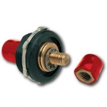 Firewall Stud Insulator, Positive - Red Cap