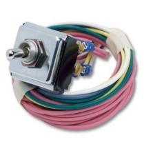 Four Way Hazard Switch, Standard Mounting Nut