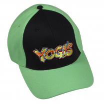Yogi's Ball Cap - Lime Green / Black