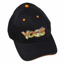 Yogi's Ball Cap - Orange / Black