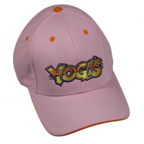 Yogi's Ball Cap - Pink / Orange