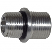 """O-Ring Manifold Fitting - 1/2"""" NPT Threads to #10 O-Ring"""