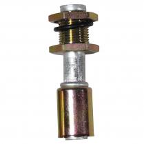"Heater Bulkhead Fitting Beadlock 5/8"" Hose Straight"