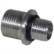 """Manifold Fitting - 3/8"""" NPT Threads to #10 O-Ring"""