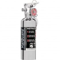 1.4 Lb HalGuard Fire Extinguisher - Chrome