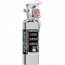 1.4 Lb HalGuard Fire Extinguisher - Chrome