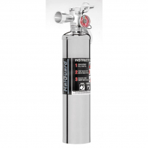 2.5 Lb HalGuard Fire Extinguisher - Chrome