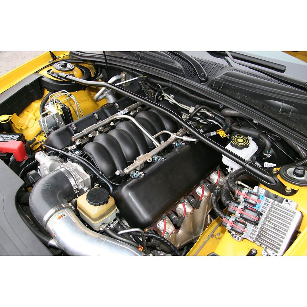 LS Coil Covers BB Chevy Replica - Satin Black Finish