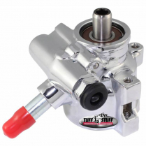 Type II Power Steering Pump - Chrome