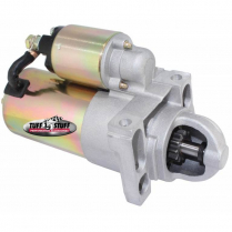 Chevy Gear Reduction Starter w/168 Tooth Flywheel Gold Zinc