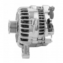 Ford Serpentine with OEM Plug Alternator 135 Amp - Chrome