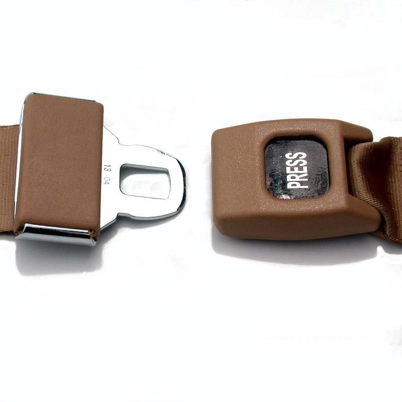 Lap Seat Belt with Push-Button