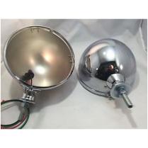 King Bee Headlight Bucket & Bezel w/o Bulbs - Stainless