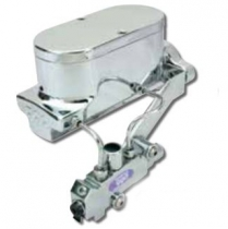 "1"" Bore Master Cylinder for Disc/Drum - Chrome"
