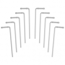 "Exhaust Hanger 10"" x .375"" 90 Degree - 10 Pack"