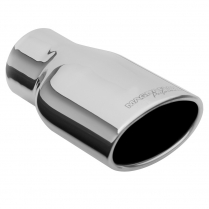 """Exhaust Tip Oval, 3.5 x 5.5 x 8 - 3"""" ID"""