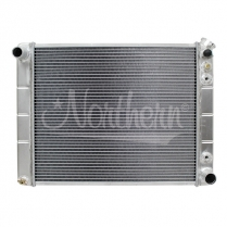 "1966-88 Car 91-93 P/U 25-3/8""x 18-5/8""x 3-1/8"" Alum Radiator"