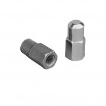 Spindle Stop Nuts - Chrome