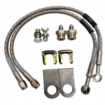 "Braided Stainless GM 1978 and Up 16"" Brake Hoses"