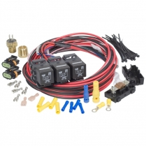 Dual Activation/Dual Fan Relay Kit, 195/185