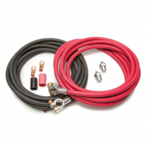Battery Cable Kit - 16Ft. Red & 16Ft. Black Cables
