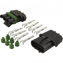 Weatherpack Kit for 3 Circuit with Male & Female Connectors