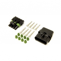 Weatherpack Kit for 4 Circuit with Male & Female Connectors
