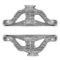 Chevy Small Block Cast Iron Headers - Plain Finish