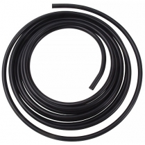 "3/8"" Aluminum Fuel Line, 25 Ft Roll - Black Anodized"