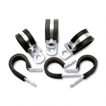 -6 AN Cushion Hose Clamps (10 Pack)