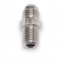 "-6 AN x 1/2"" NPT Straight Adapter Fitting - EnduraShine"