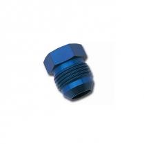 -8 An Male to M18 x 1.5 Male - Blue Anodized