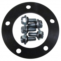 Fuel Sender 5 Hole Rubber Gasket with Screws