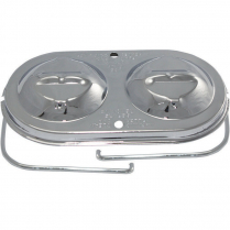 GM Dual Bail Master Cylinder Cover - Chrome