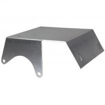 Chevy Full Size Starter Heat Shield - Satin Aluminum