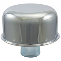 Valve Cover Breather Cap Push In Style - Chrome